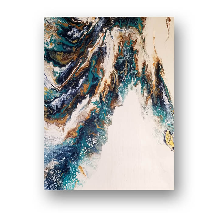 melting ice caps painting