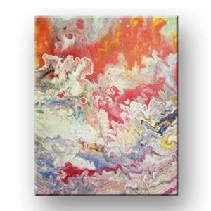 plate tectonics painting