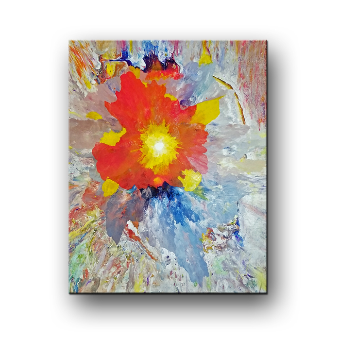 wild orchid painting